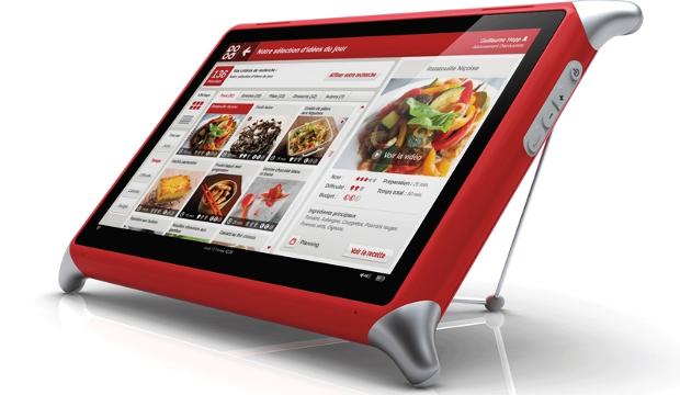 tablette tactile pour cuisine QOOQ