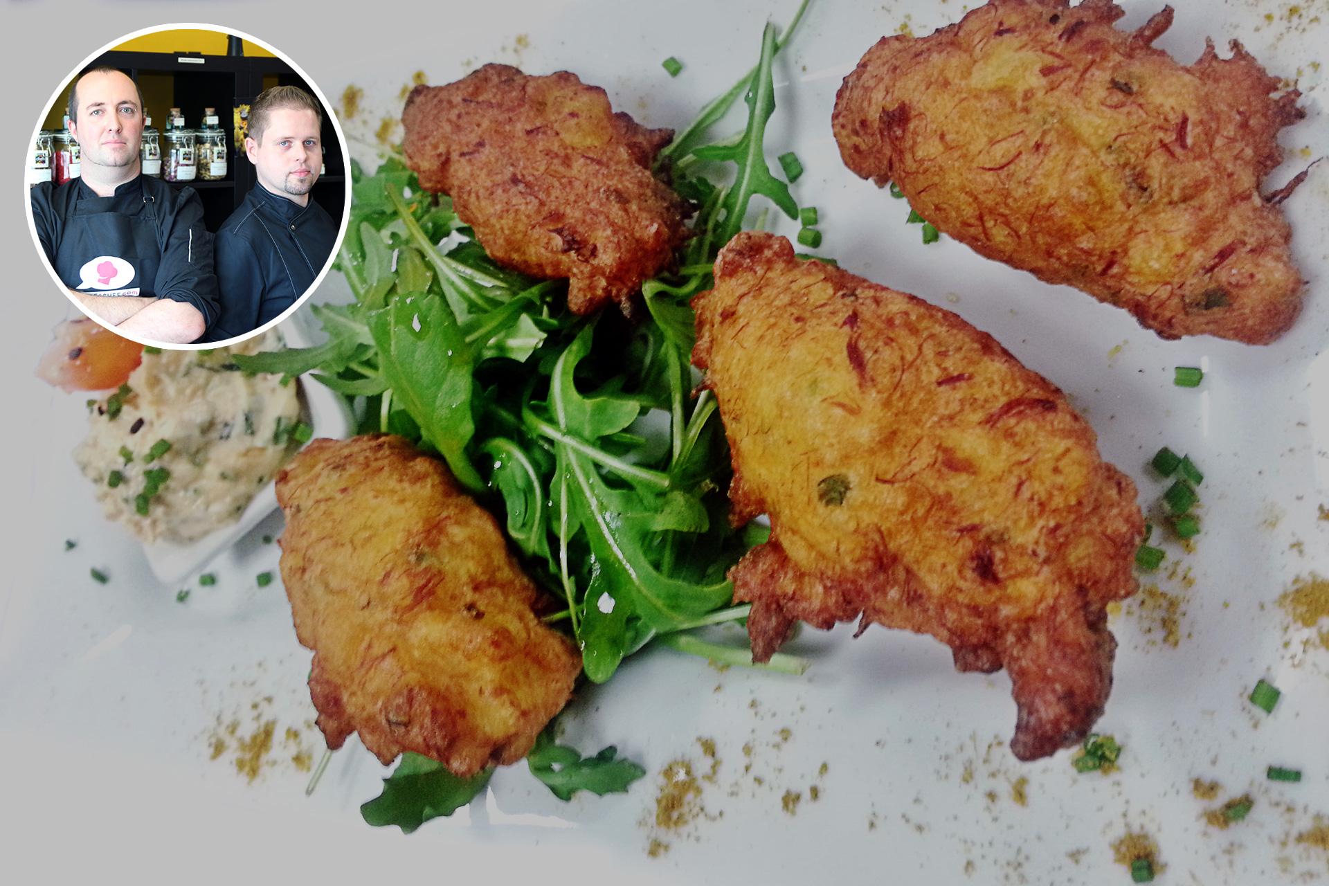 Recette des croquettes de sardine au chorizo par les chefs gr gory huguet micha l gohier le - Sardines au four sans odeur ...