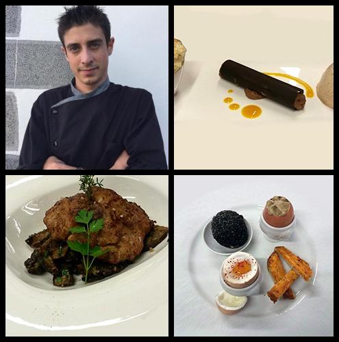 Réalisations culinaires de Romain, chef à domicile sur Biarritz