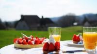 Recette de la tarte aux fraises basilic par la chef à domicile Marie Pouget Osmont