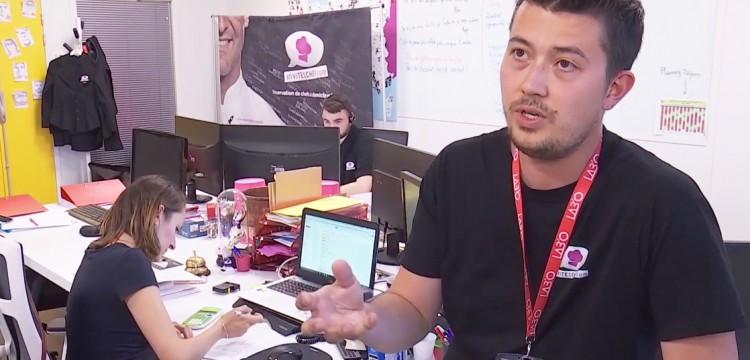 Julien Nguyen, chef à domicile fondateur du réseau invite1chef.com
