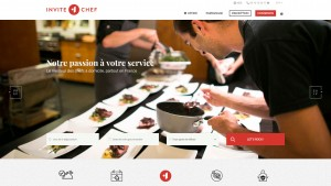 New home page invite1chef