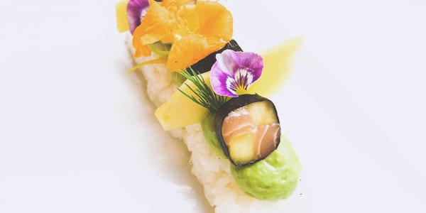 L'éclair sushi du chef à domicile sur Paris Éric Ticana