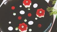 Assiette fleurie de la chef à domicile sur Montpellier Hélaine Baronheid