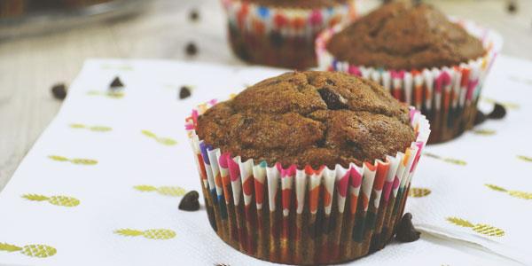 Les muffins à la peau de banane, la recette zero gaspi de Julie Alves
