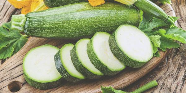 La courgette, légère et bonne pour la santé