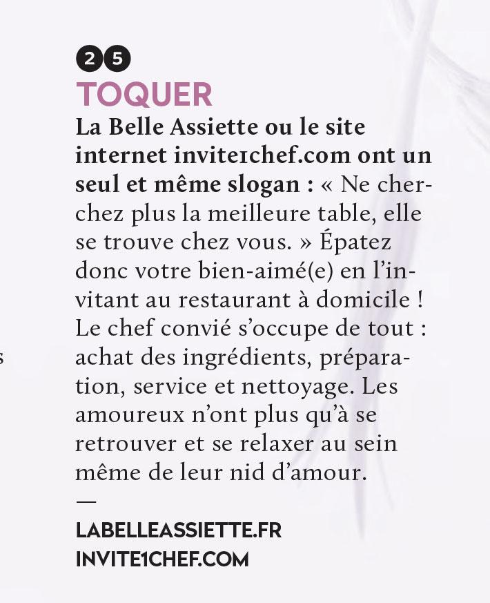 Invite1chef.com, référence pour un dîner romantique de qualité