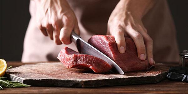Une viande de qualité doit être brillante et tendre