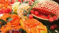 Sculpture sur pastèque : food art estival