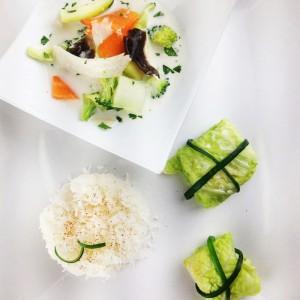 légumes coco riz