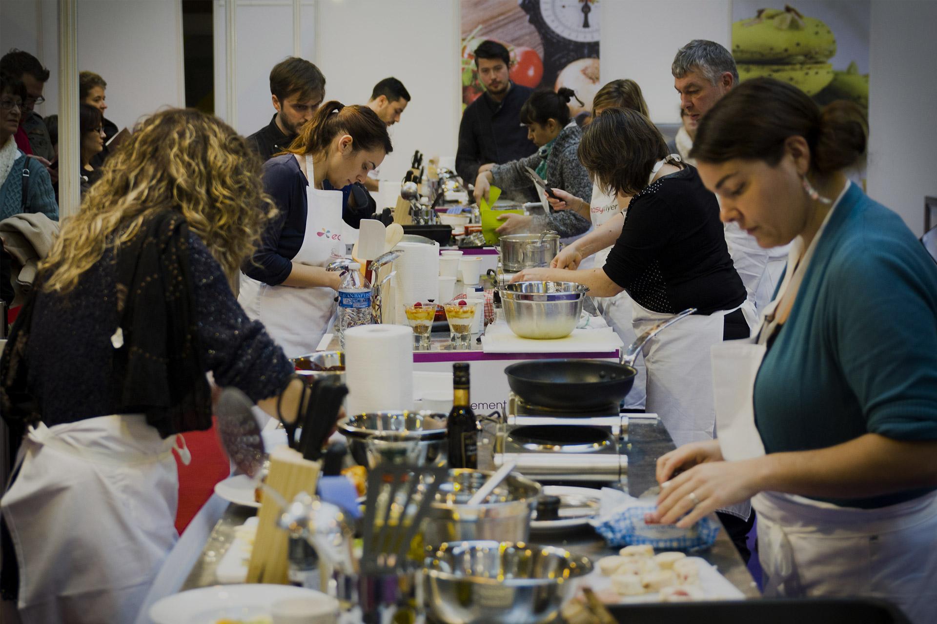 Notre Concours De Cuisine Avec Salon Gastronomie Et Vins 2012 A